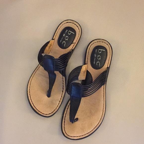 07cb44629f1f2 b.o.c. Black Sandals. M 5a8b2e303b1608c500403d41